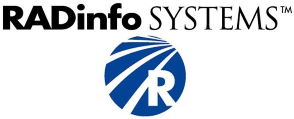 RadInfo Logo Under